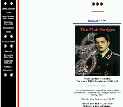 Marc Garlasco, Nazi Memorabilia Collector