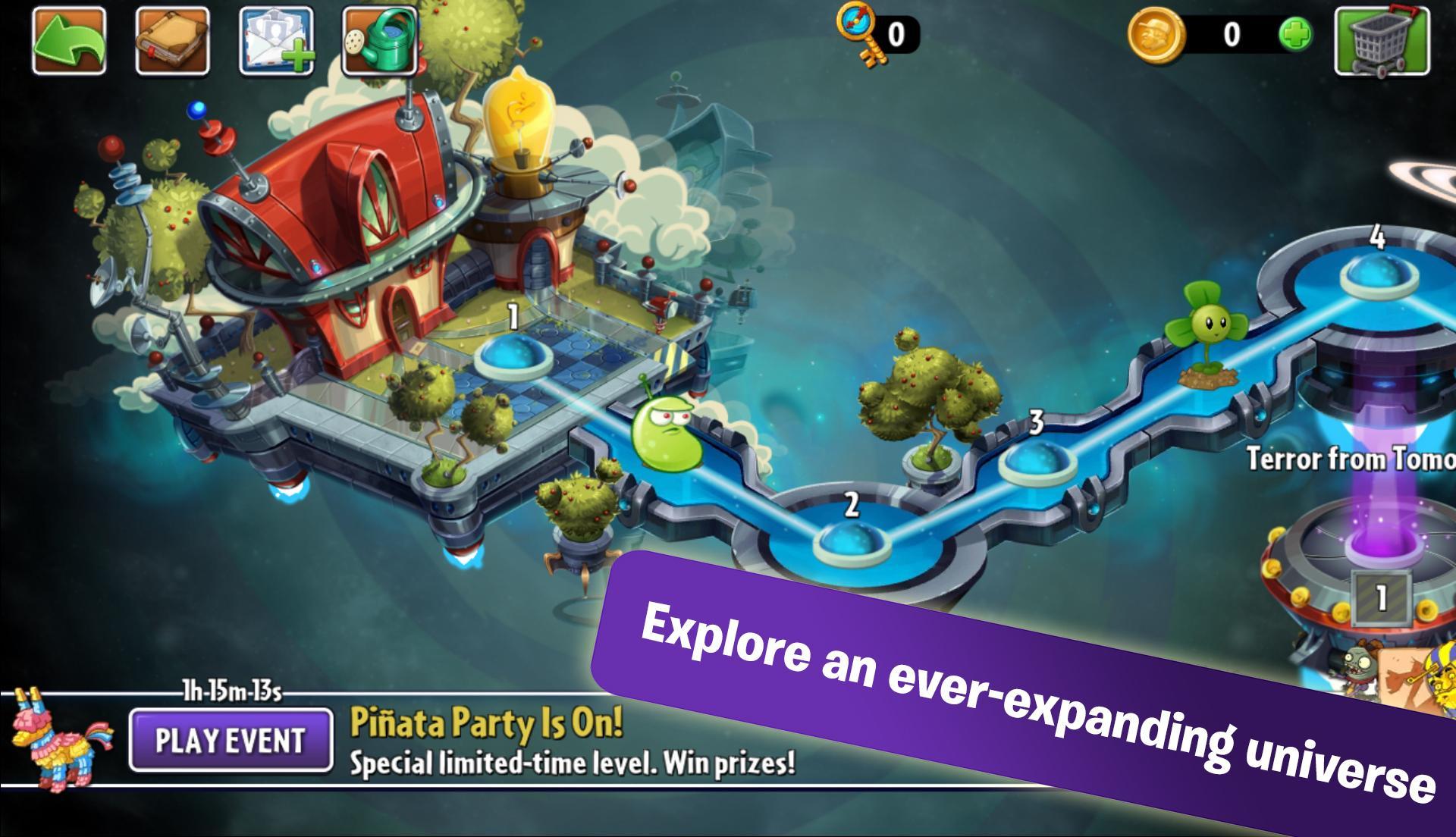 Plants vs. Zombies™ 2 screenshot #2