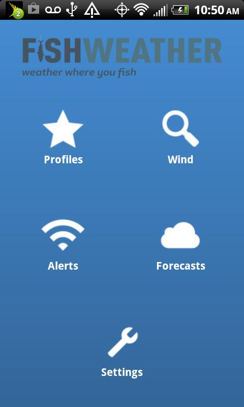 FishWeather- screenshot