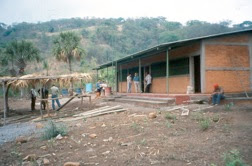 The new school in Los Pozitos, built by Amigos de Holanda