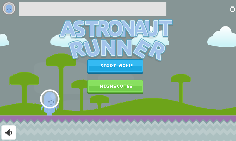 Astronaut Runner- screenshot