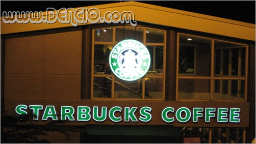 Most Photographed Starbucks logo Ever!