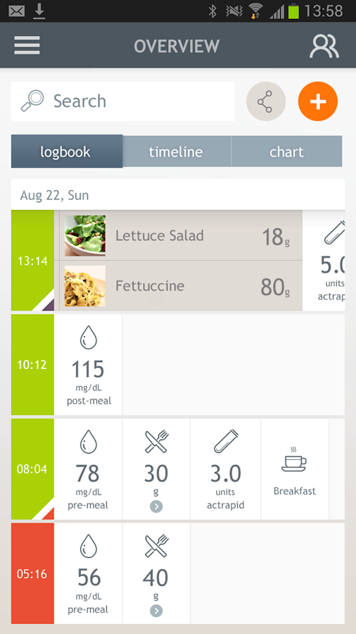 Dario Smart Diabetes Management- screenshot