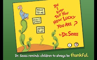 Screenshot of How Lucky You Are - Dr. Seuss
