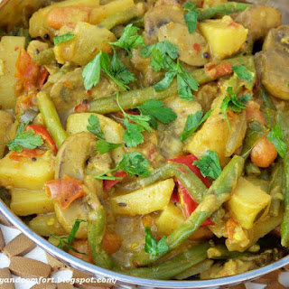 Vegetable Korma - Vegan Indian Side Dish Recipe