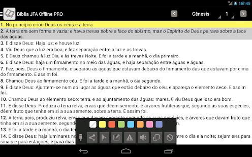 Bíblia JFA Offline - screenshot thumbnail