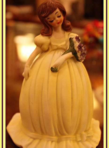 BARGAIN DECORATING WITH LAURIE: CINDERELLA DRESSED IN YELLOW