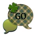 GO SMS THEME/ShamrockPlaid4U icon