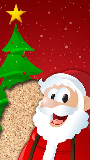 兒童的聖誕老人智力遊戲