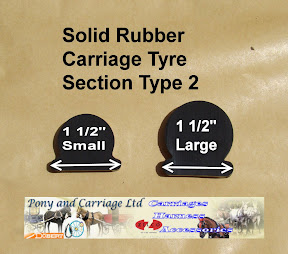 Horse Carriage Rubber Tyre Type 2