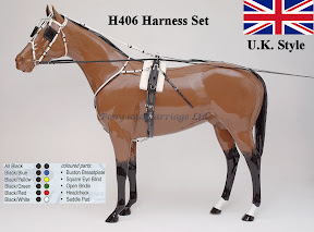 Zilco Racing Trotting Horse Harness  H406