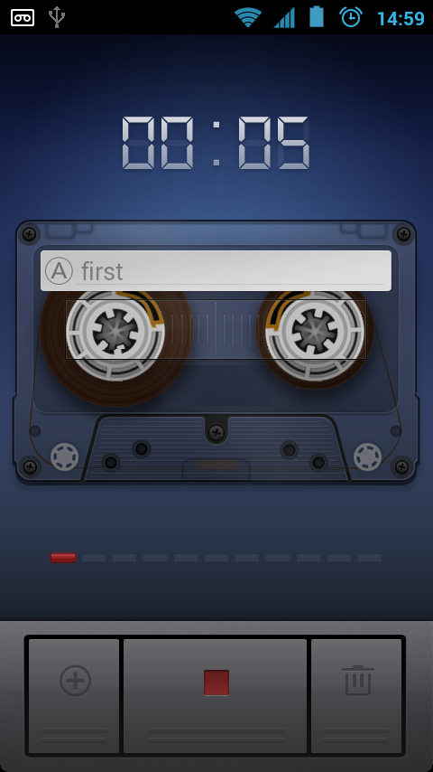 Sound Recorder - screenshot