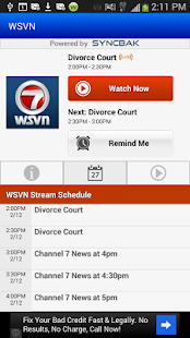 WSVN Live - screenshot thumbnail