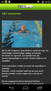 Delta sportcentrum - screenshot thumbnail