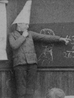 A dunce cap