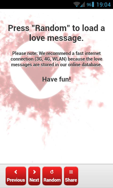 Love Messages (SMS, IM) - screenshot