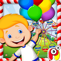Kids Food Fair – cooking game icon