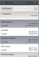 Screenshot of Winancial Phone