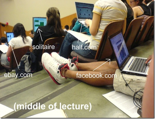 Laptops in Lectures