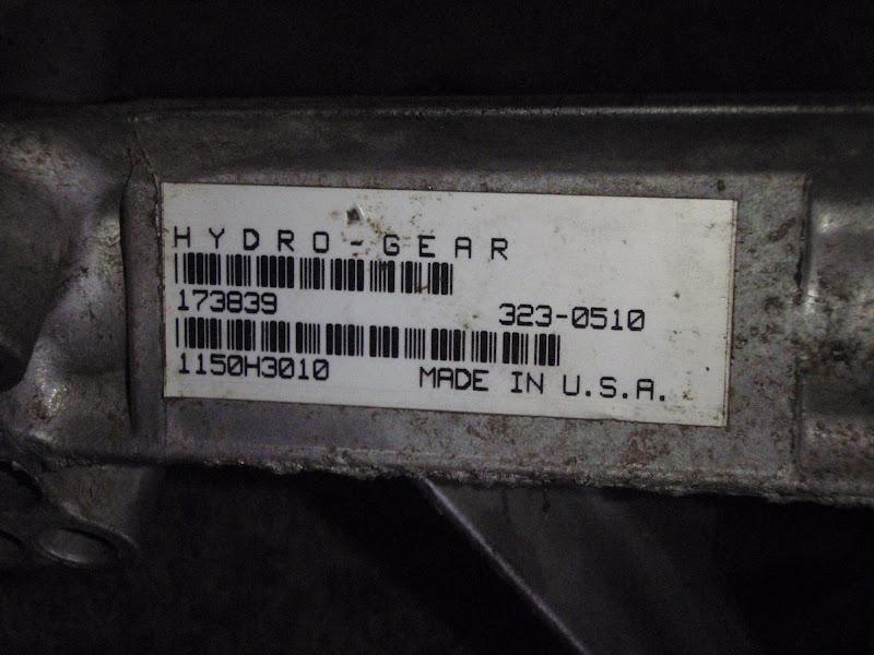 Hydrostatic transmission problem in craftsman DLT 2000