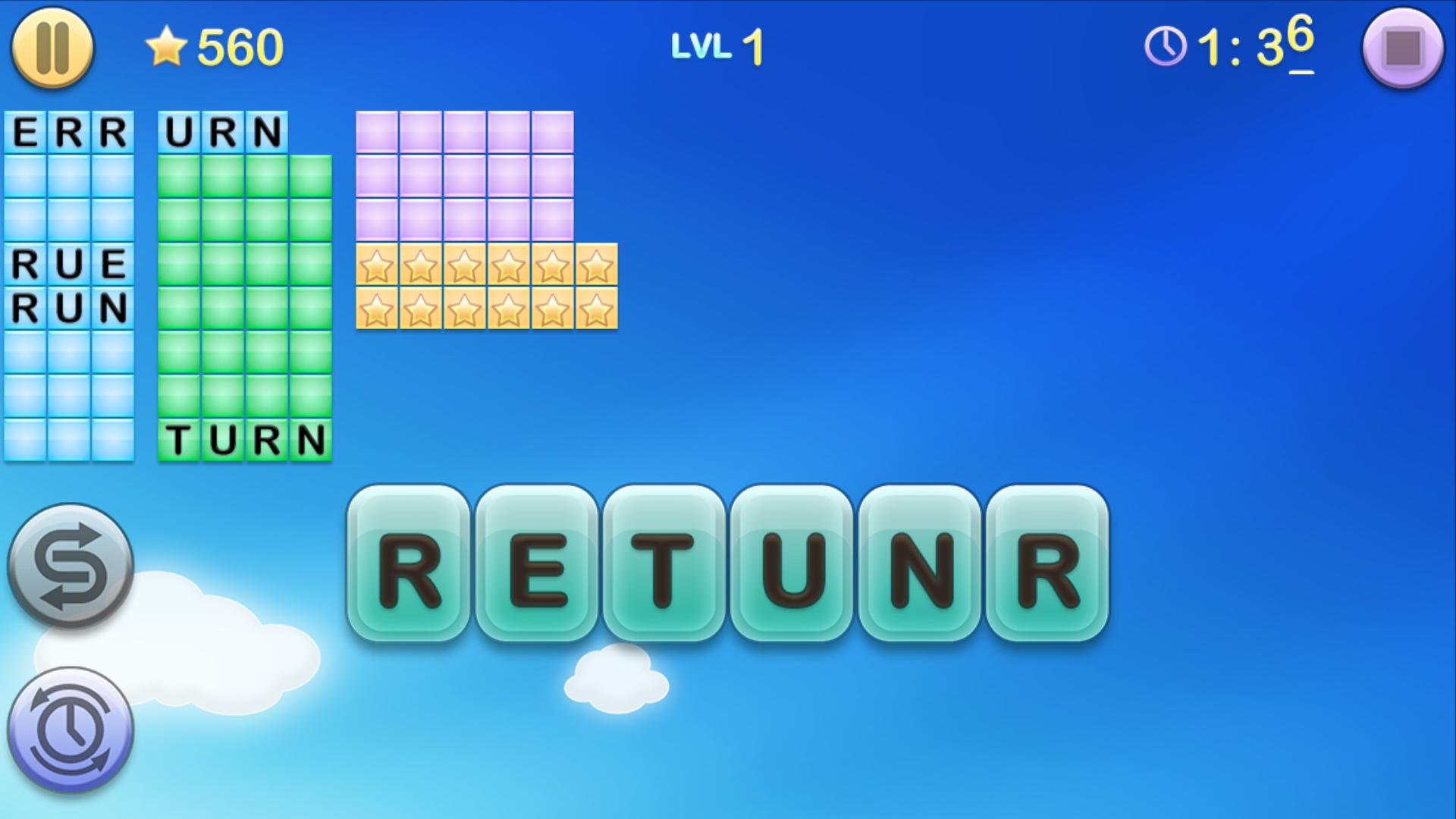 Jumbline 2 - word game puzzle screenshot #1