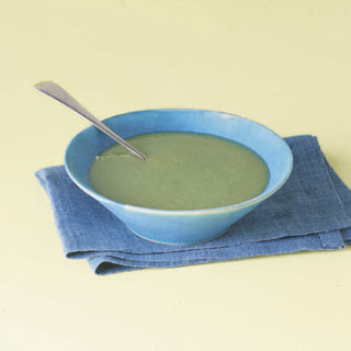 Broccoli and Parsnip Soup.