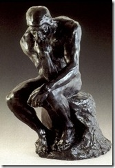 "The ""Thinker"" - Auguste Rodin"