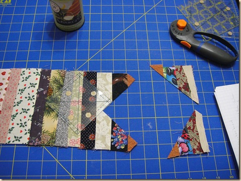 string quilt cutting