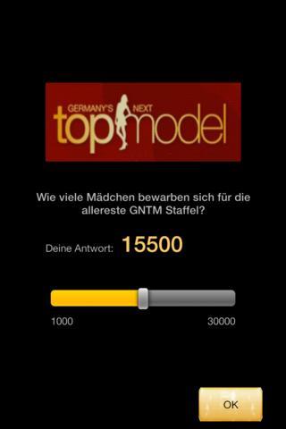 GNTM Quiz - screenshot