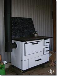 New Kentucky Homestead: Summer kitchen cook stove