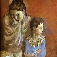 Pablo Picasso - Tumblers (Mother and Son).JPG