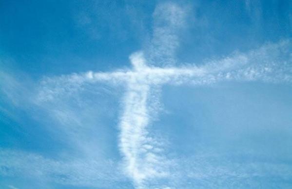 Jēzus seja debesīs