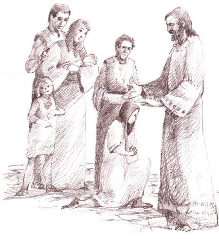 Vai zīdaiņu kristīšana ir pamatota Bībelē
