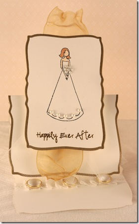 happily ever after neutrals easel