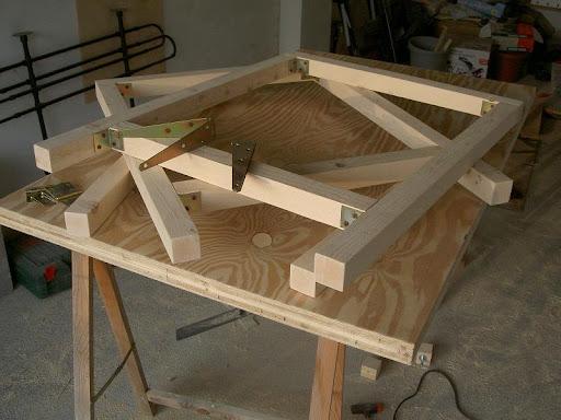 Gambe Pieghevoli Per Tavoli Fai Da Te.Radici Il Tavolo Da Lavoro Nel Box