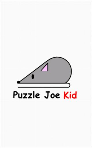 Jeu enfants - Puzzle Joe Kid