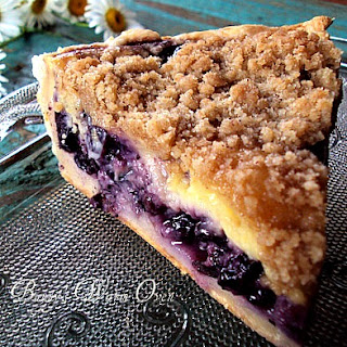 Creamy Blueberry Pie.