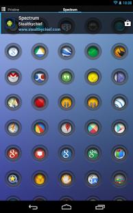Spectrum - Icon Pack- screenshot thumbnail