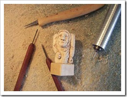 Carving first chess piece-1-1-10