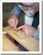 Ron Carving away2