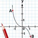 Mathematical analysis icon