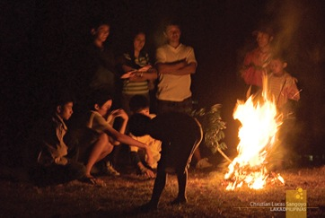 Bonfires, Sagada local's favorite night activity