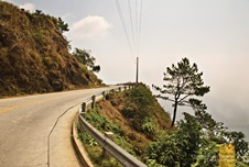 Cliffside Roadways En Route to Sagada