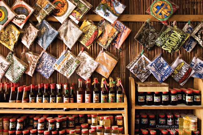 Wines, Jams and Shirts at Sagada