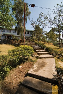 The Path to the Main House at Sagada's St. Joseph Resthouse