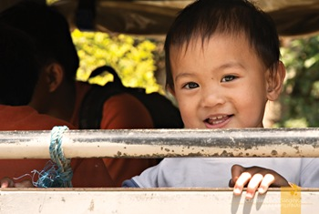 A Smiling Kid from Sagada