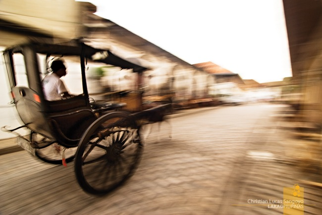 Horse Drawn Carriages at Ilocos Sur's Vigan City