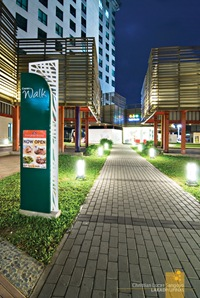 Entrance Arcade to Centris Walk