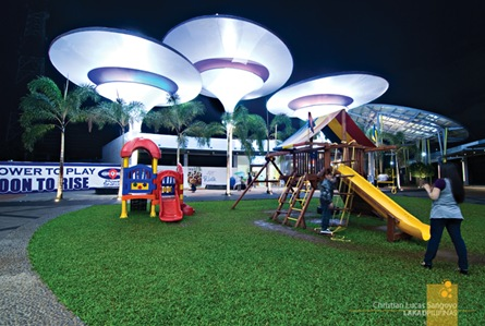 Playground at the Middle of Centris Walk