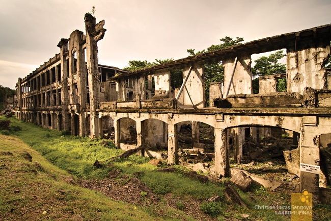 The Skeletal Remains of Corregidor's Middleside Barracks